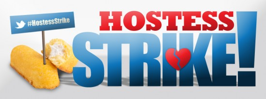 Hostess on STRIKE!