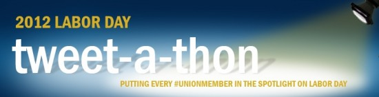 Participate in the #UnionMember Labor Day tweet-a-thon!