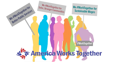 America Works Together graphic